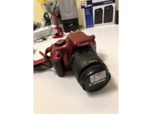 Фотоаппарат Canon EOS 1100D + 18-55mm
