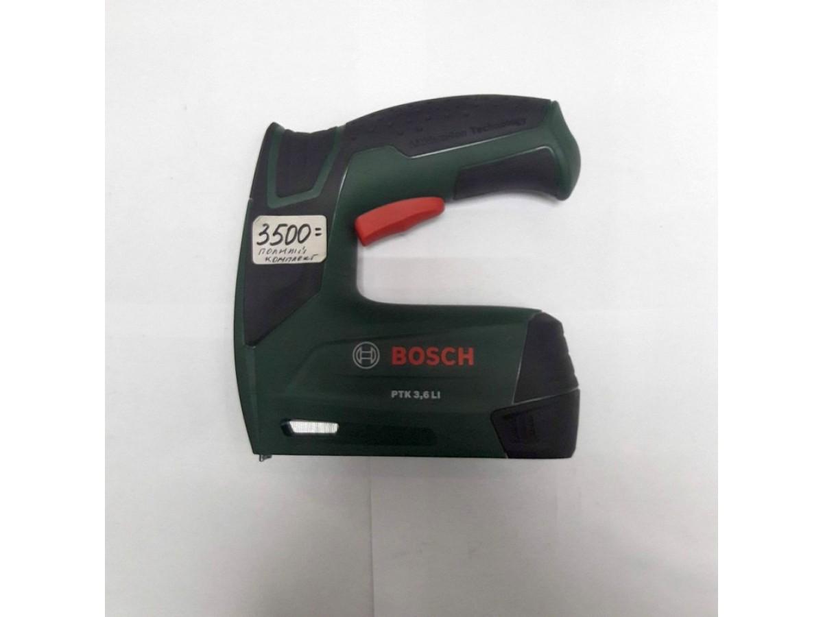 Аккумуляторный степлер Bosch ptk3.6li